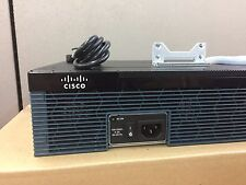 Cisco CISCO2921-SEC/K9 3Port Security License Gigabit Router ~Same Day Shipping~