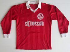 HAMMERGENIAL:  Rot-Weiss Essen HOME Trikot 1984 - 85! SCHOSSAU!! KEIN Retro!!