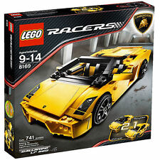 Lego Racers: #8169 Lamborghini Gallardo New Sealed