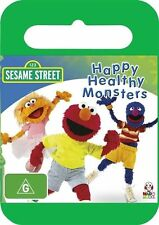 Sesame Street - Happy Healthy Monsters (DVD, 2010) - Region 4