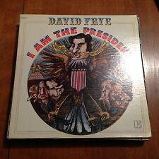 David Frye-i Am The President-lp-elektra-75006-vg+
