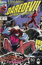 Daredevil #297 Near Mint (Vol 1 1963) Last Rites Story Typhoid Mary App
