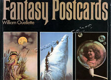 WILLIAM OUELLETTE, FANTASY POSTCARDS (CARTES POSTALES FANTAISISTES...)