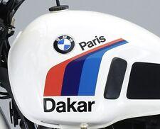 BMW R80G/S Aufkleber Label Set für den Tank der R 80 G/S Paris Dakar PD