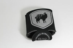 Grand Trunk Goods Llama Beer Drink Holder Koozie Coozie Black With Silver