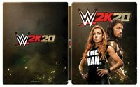 * WWE 2K20 * Playstation 4 Xbox One Steelbook Case Only * NO GAME * NEW