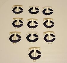 10-PCS MINNESOTA TWINS   (WHITE & NAVY) VINTAGE EMBROIDERED PATCH