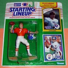 1990 JOHN ELWAY Denver Broncos #7 orange jersey - FREE s/h - Starting Lineup HOF