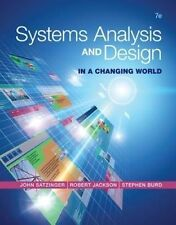 Systems Analysis and Design in a Changing World by Stephen D. Burd, Robert Jacks