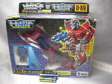 Very Rare Trans formers Target master D-89 miss fire Takara Vintage from japan