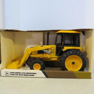 Ertl John Deere 2755 Industrial Tractor w/Loader 1/16 JD-5677DO