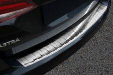 Ladekantenschutz für Opel Astra K 5 Sports Tourer 2016- mit Abkantung Edelstahl