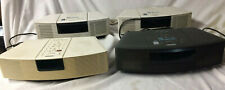 Job lot of 4 Bose Wave Radio/CD 's .Not working. Spares & repairs