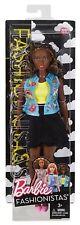 Barbie® Fashionistas®  #39 Emoji Fun African American Curvy Doll  Brand NEW