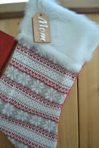 Custom Wooden Stocking/Gift Tags