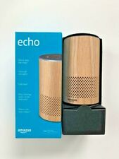 Amazon Echo (2nd Gen) Smart Assistant Speaker w/ Alexa - OAK FINISH