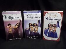 Sensual Art of Bellydance - Three Volume Gift Set (VHS,  3-Tape Set) used videos