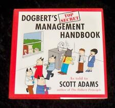 Dogbert's Top Secret Management Handbook by Scott Adams (1996, Hardcover)