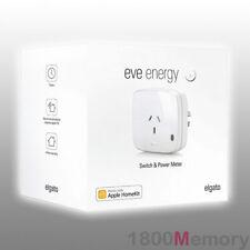 Elgato Eve Energy Switch & Power Meter Apple HomeKit Technology Bluetooth