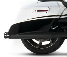 "Rinehart Moto Series Slip-Ons 3.5"" Slip On Muffler Black / Black Merge End Caps"