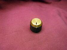 NEW ORIGINAL Fisher Knob w/ New Brass Cap 500-C 800-C 400 400-CX  800-B X-202-B