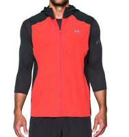 Under Armour 1298915-963 Mens Size XXL Red Storm Vortex Hooded Full Zip Vest