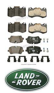 Rear Axle BRAKE PADS SET for LAND ROVER RANGE ROVERI 4.4 D 4x4 2010-2012