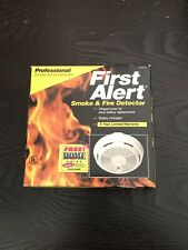 First Alert Professional Smoke & Fire Detector Alarm New Sealed Free Shipping*