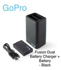 GoPro - Fusion Dual Battery Charger + Battery - Black (ASDBC-001) - FAST SHIP