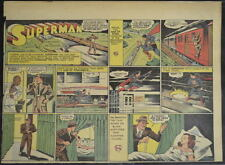 SUPERMAN SUNDAY COMIC STRIP #43 Sept 1, 1940 2/3 FULL Page DC Comics RARE