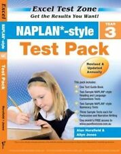 NAPLAN Style Test Pack Year 3 by Alan Horsfield Paperback