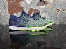🔥UNDER ARMOUR CHARGED BANDIT 3 YOUTH RUNNING SHOE 1295957-411 SZ 6.5 NAVY/GREEN