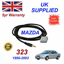 Mazda 323 Series AUX 3.5mm Input Audio cable High Quality Sound model year 99-03