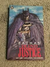 Batman:Blind Justice Graphic Novel-tpb-DIAMOND COLLECTION**Rare**OOP