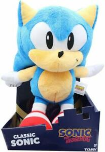 TOMY Sonic The Hedgehog Collector Series 12 Inch Plush - Classic Sonic