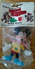 Vintage Mickey Mouse Wonderful World Of Disney Christmas Decoration Nos unopened