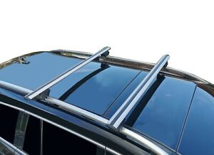 Alloy Roof Rack Cross Bar for Skoda Octavia 2013-19 Wagon Lockable 120cm