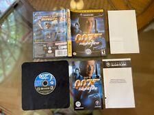 007 NightFire AUTHENTIC Original GameCube COMPLETE Registration Card Plays Great
