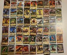 Dinosaur King Trading Card Rare Dinosaur Attack Monster cards lot of 90+ cards