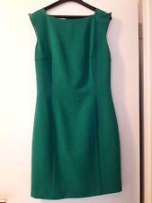 Smaragdgrünes Etuikleid, Esprit, Größe 34
