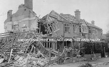 FLYING BOMB DAMAGE KINGSTON SURREY 1944 MOUNTED PRINT WORLD WAR ANCESTRY