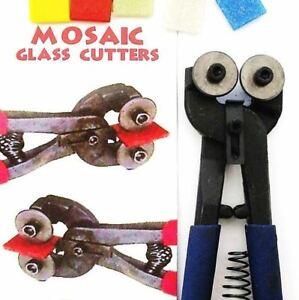 Mosaic Glass Cutters (25x Free Vitreous Tiles)