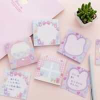 1xStationery Notepad Label Sticker Cute Pad Memo Pad School Sticky Notes Office