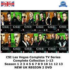 CSI Las Vegas Series 1-13 Complete 77 Discs Part 1 2 3 4 5 6 7 8 9 10 11 New DVD