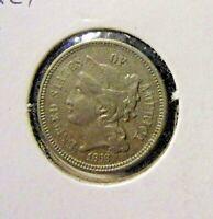 1868 3 Cent Nickel Excellent details