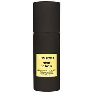 Tom Ford Mens Noir de Noir All Over Body Spray Full Size 4 oz New In Box Sealed