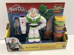Disney Pixar Toy Story Buzz Light Year Play-Doh Set 2018 Unused In Box FREE SHIP