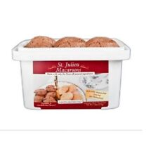 Macaroon Cocoa Almond Cookie Tub 7.5 oz Gluten-Free No Cholesterol Low Fat