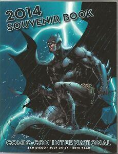 2014 San Diego Comic Con SDCC Jim Lee Batman Cover Art Souvenir Book
