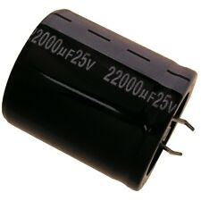 Elko Kondensator Jamicon HS 25V 22000uF RM10 35x40mm 105°C Snap-in 854291